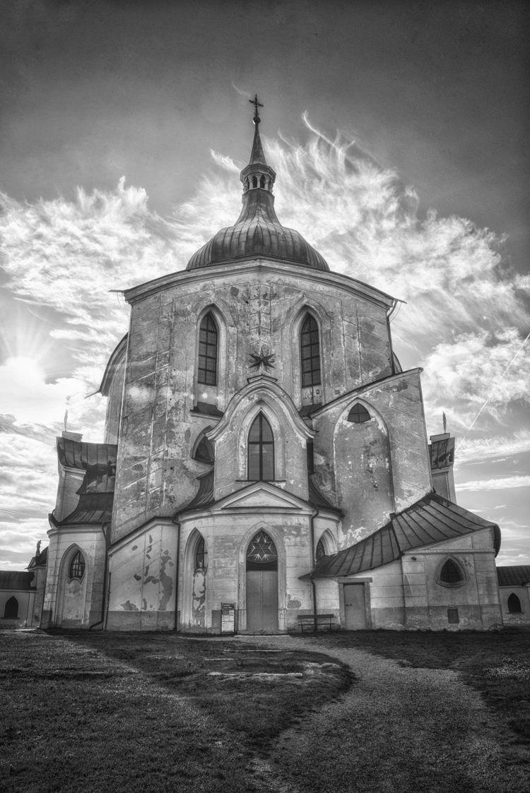Zelená Hora Pilgrimage Church S - andrewnoiles | ello