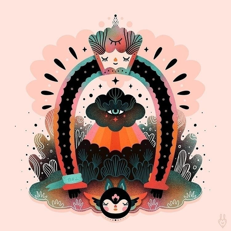 • Horseshoe - illustration, digital - muxxi | ello