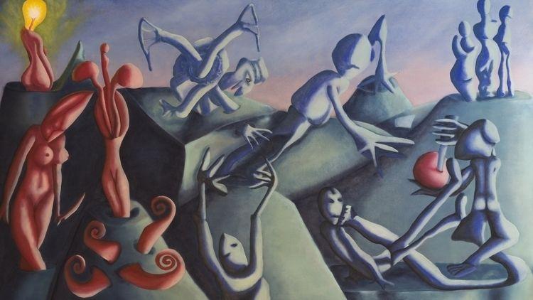 Untitled Oil Painting Honigmann - honigmann | ello