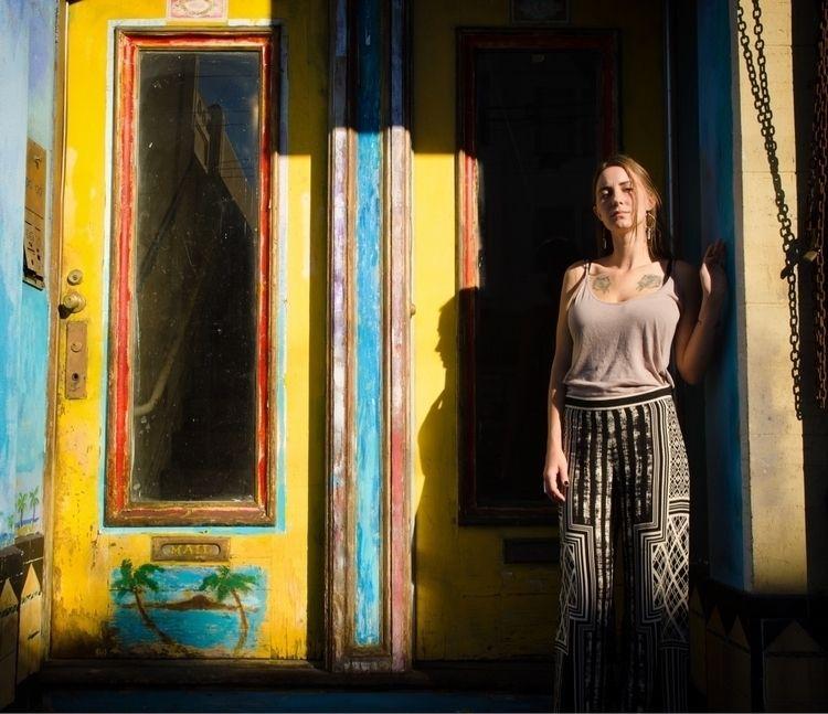 Angelica Rockne poses Stockton  - jasonogulnik | ello