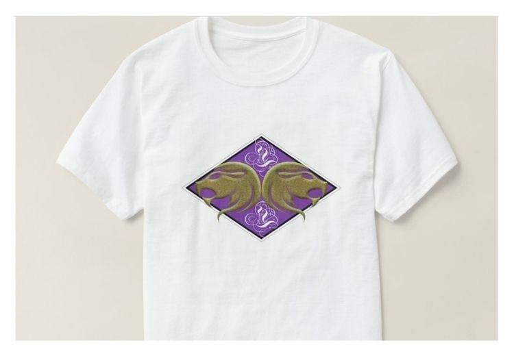 Design - Zodiac, Leo, TShirt, Purple - mrmartonline   ello