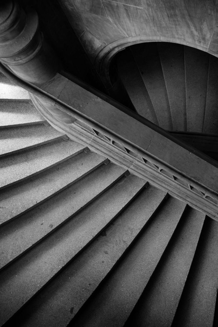 staircase - fineart, photography - obscure63 | ello