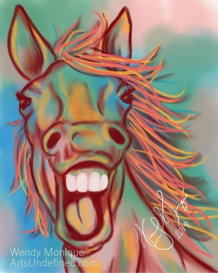 Daily Doodle - Vibrant Laughter - artsundefined | ello