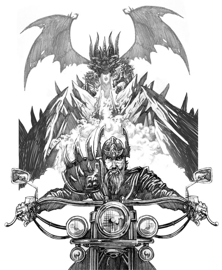 concept sketching fantasy art b - spzero76 | ello