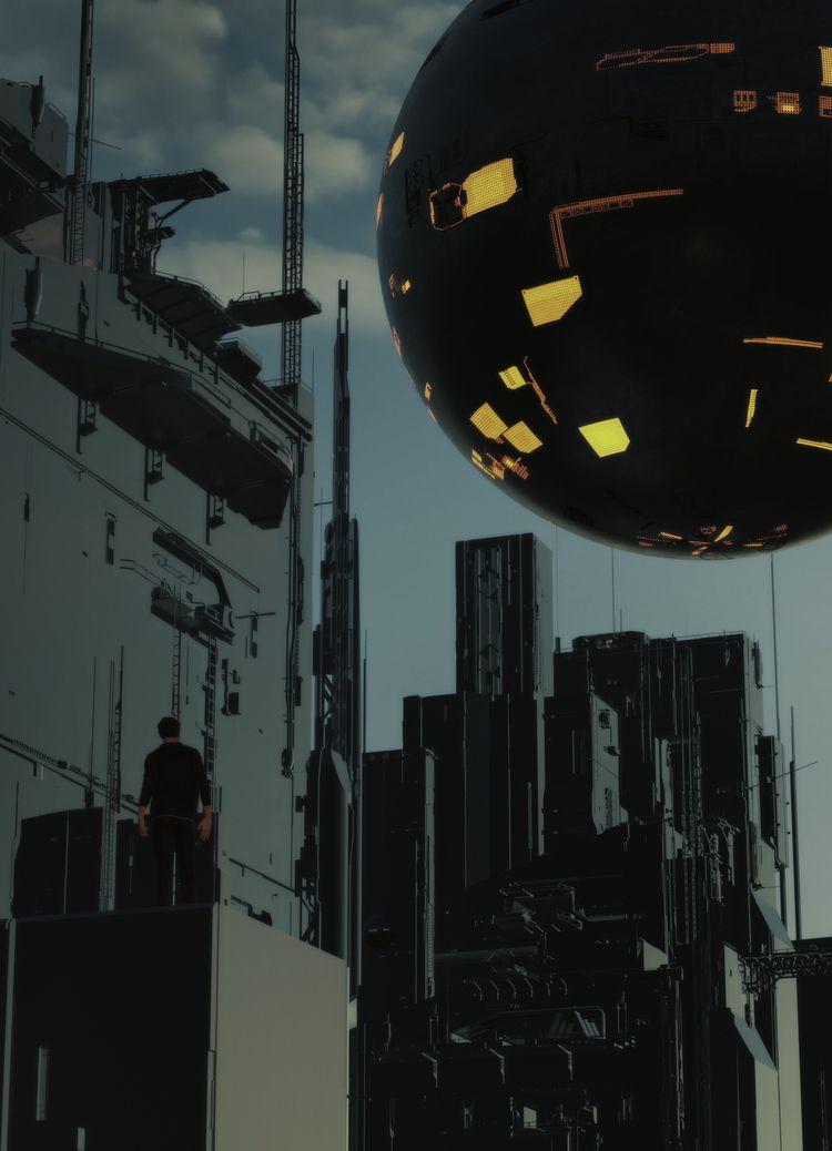COMPLEXI - 3d, c4d, cinema4d, scifi - hxg | ello