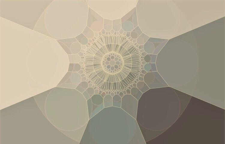 Voronoi light shading circle pa - christophermoverton   ello