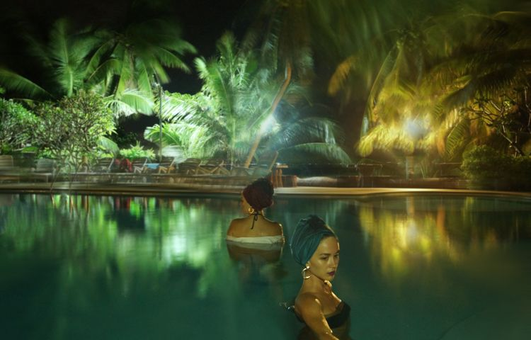 Night swim Thailand, Dec 2018 - ljubitza | ello