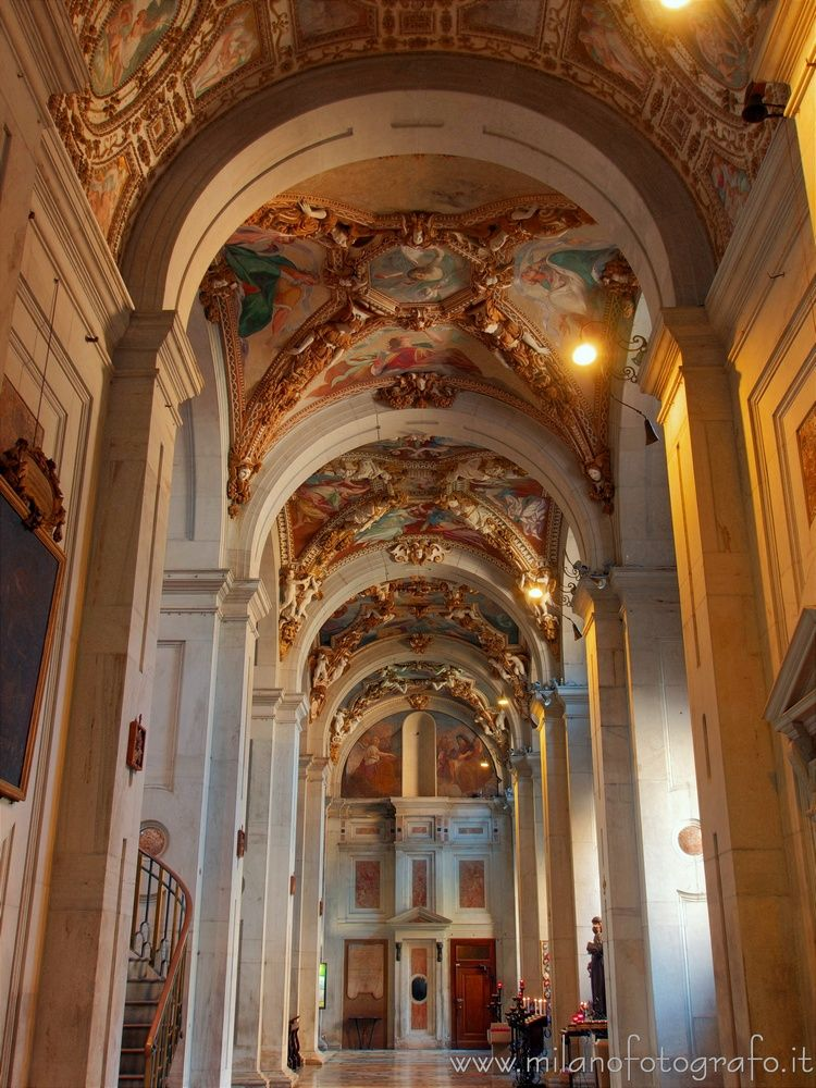 ( ): Left nave Santa Maria dei  - milanofotografo | ello