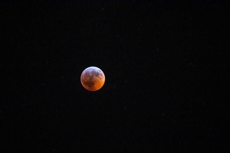 Super Blood Moon Eclipse night - breakingmetrics | ello