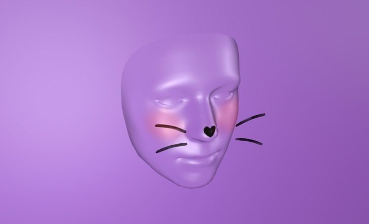 "Instagram Face Filter: ""Kawaii - allanberger | ello"