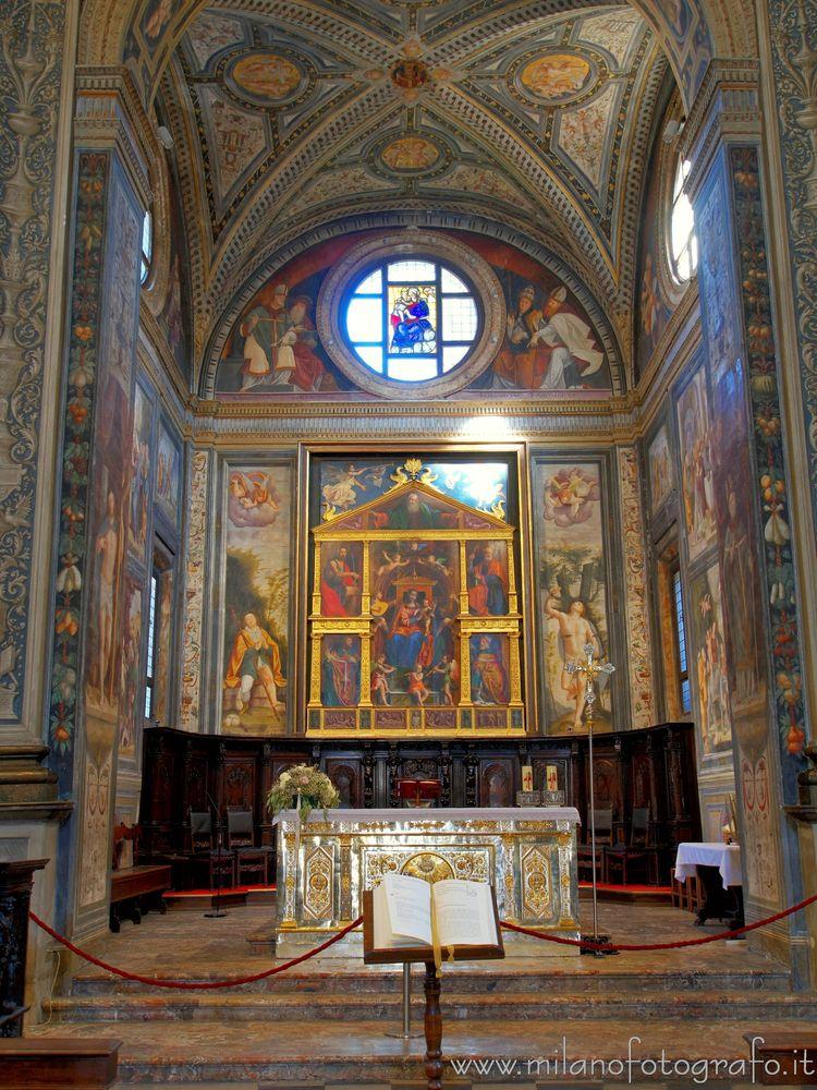 (#Милан, главная часовня Сан-Ма - milanofotografo | ello