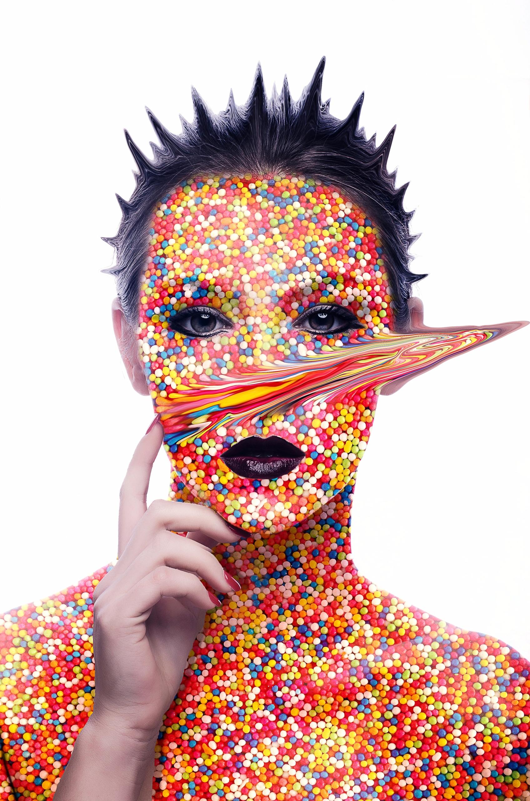 Candy-girl - photoshop, art, design - visualsofmh | ello