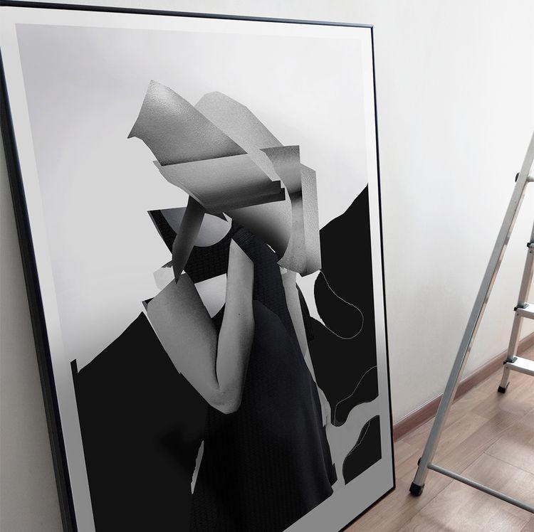 MAZE_ 70X100cm_framed - frame, printing - cityabyss | ello