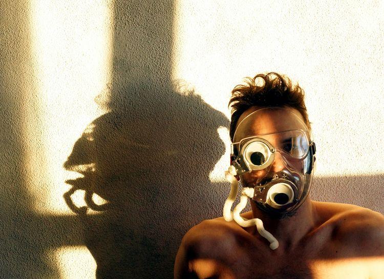 Global gulag mask double 00097  - frango_artist | ello