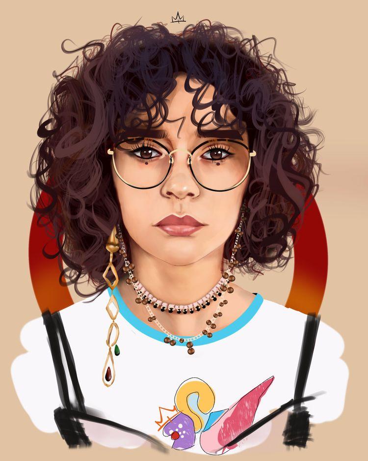 sweet coffee - art, illustration - k1ngterry | ello