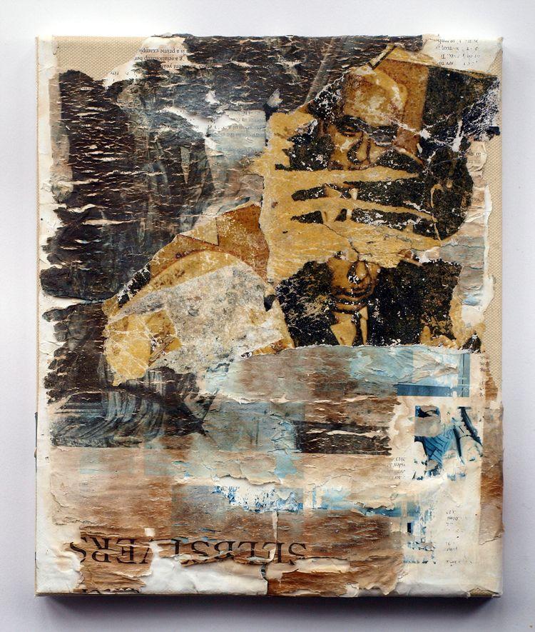 Nicosia 2 Collage canvas - collage - fullom | ello