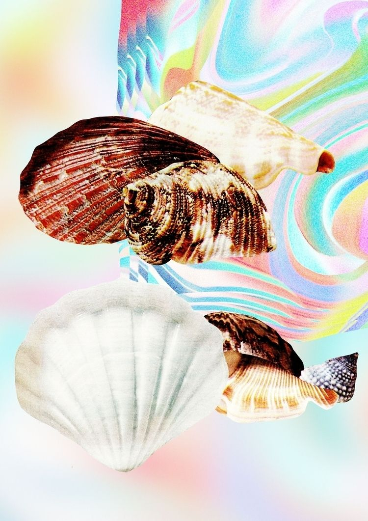 Seashells psychedelic creatures - laurainka | ello