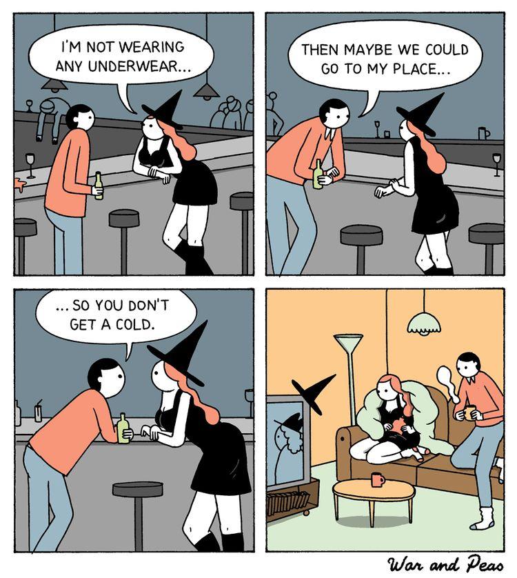 Marple Chill - comic, warandpeas - warandpeas | ello