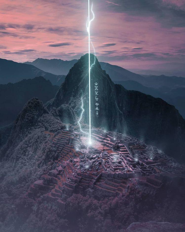 Unidentified Location - scifi, magic - reimaginates | ello