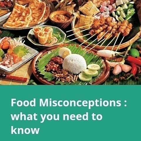 Common food misconceptions visi - sherylbakky | ello