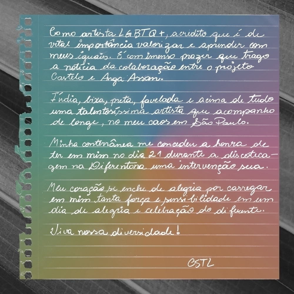 LGBTQ+ artist vital valorize le - castelowork | ello