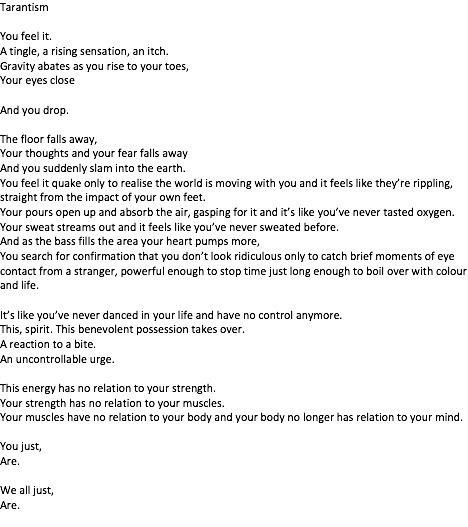 poetry, poem, dance - jefurber | ello