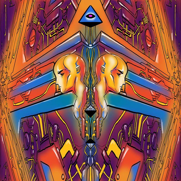 ongoing post illustration serie - lasergunfactory   ello