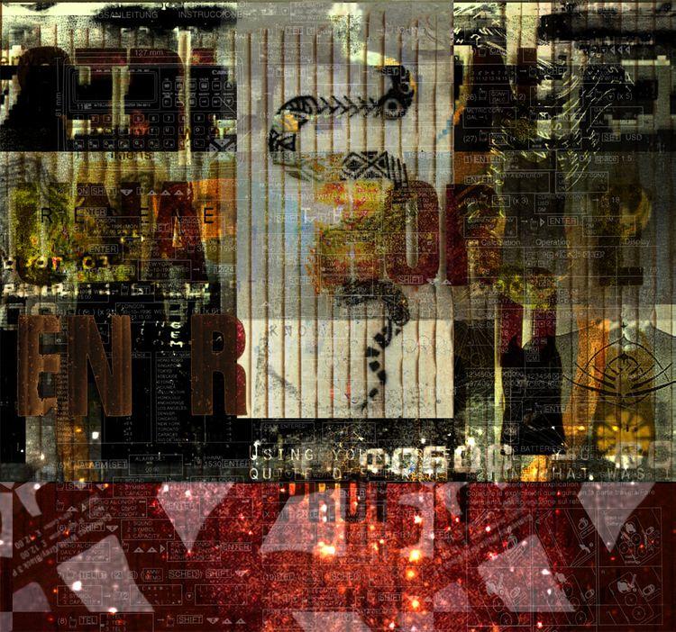 Una World Digital - collage, intertextuality - fullom   ello