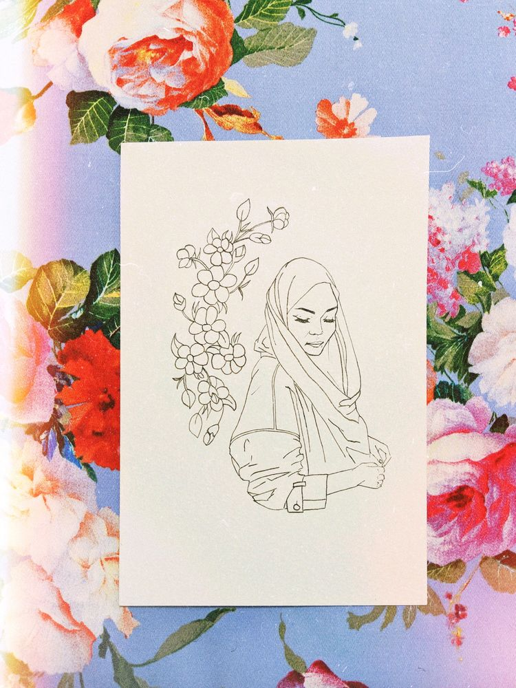 Serpihan, original ink drawing  - zaiguu | ello