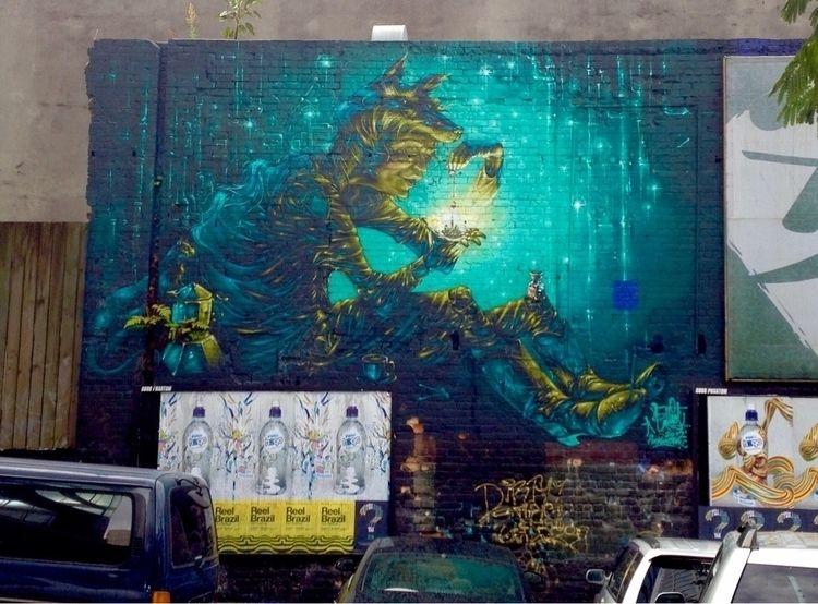 Street art advertising - HiddenAuckland - rogerbaillie | ello