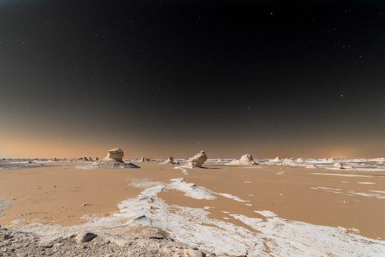 White desert - landscape, alien - vsotiris | ello