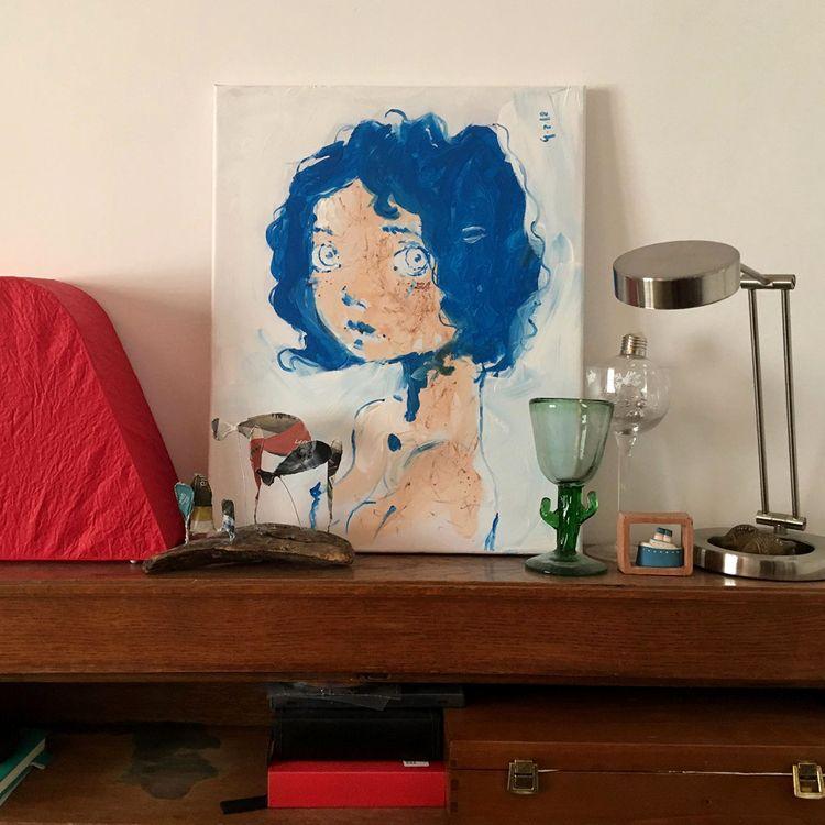Ecco sta la mia bimba blu casa  - diegogabriele | ello