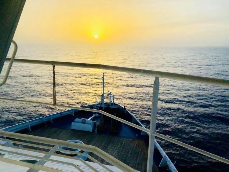 sailors point view 🥺 - grazia | ello