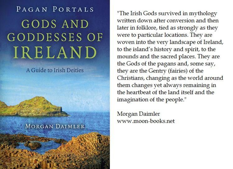 Gods Goddesses Ireland - moon-books   ello