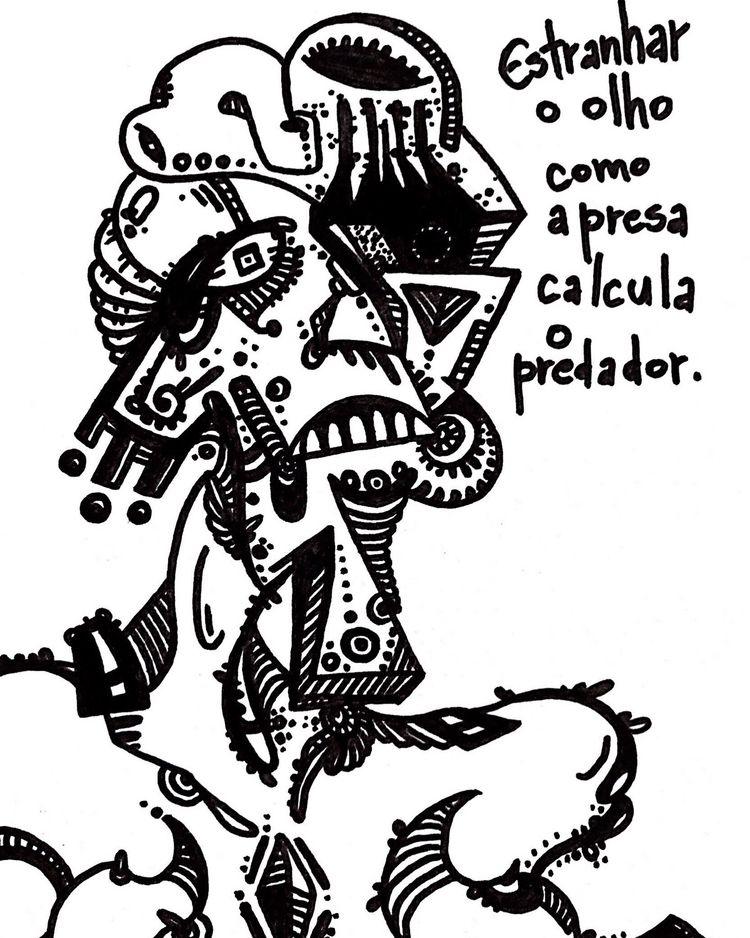Tarja Branca - Estranhado  - art - pontilhismus | ello