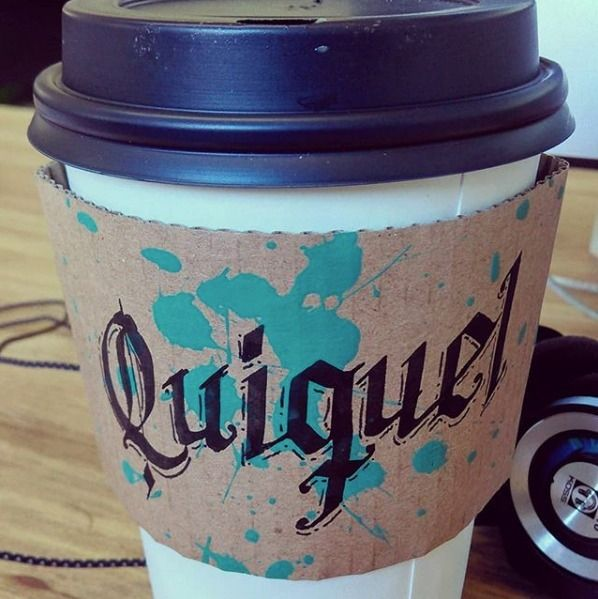 QUIKEL Calligraphy coffee cup,  - quikel | ello