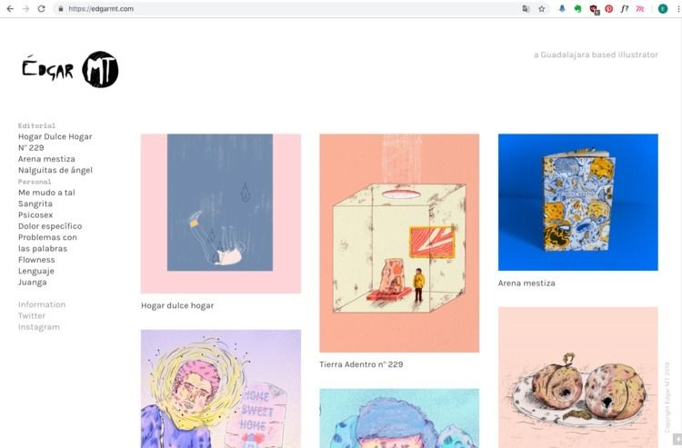 visit website - illustration, edgarmt - edgarmt   ello