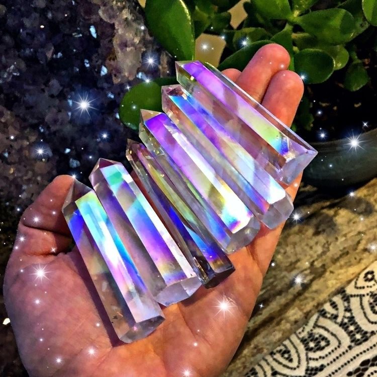 Coming - crystals, auraquartz, rainbows - gypsyhawaii | ello