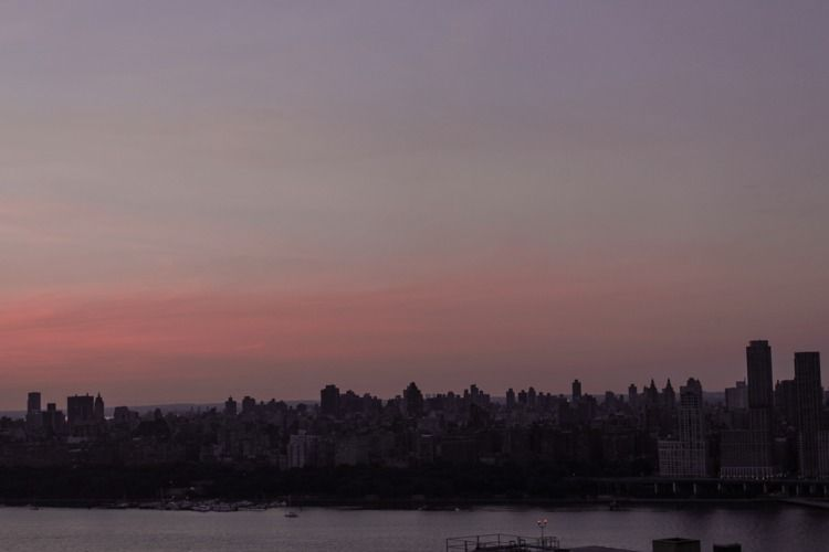 rose-tinted - atmospheric, nyc, skyline - graceauden | ello