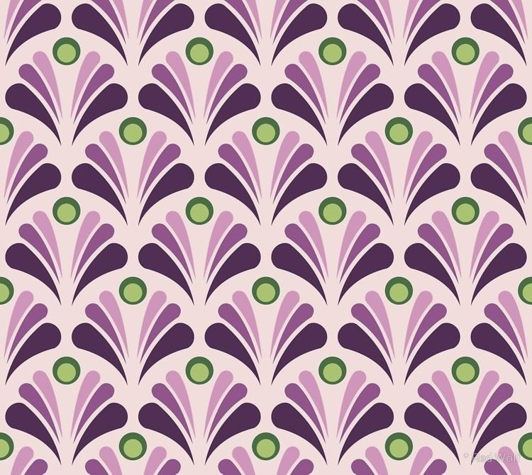 Geometric Pattern: Art Deco: Pe - red_wolf | ello
