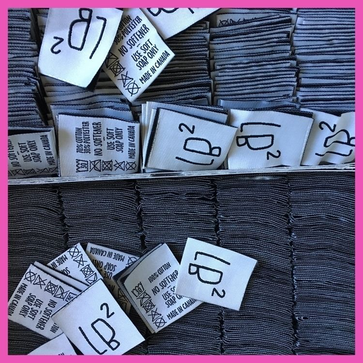 LB² woven labels  - logo, brand - lb2studio | ello