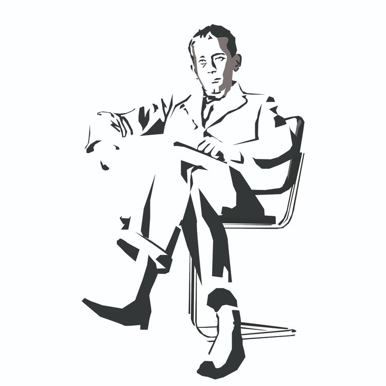 Marcel Breuer - illustration, architecture - sophieillustration | ello