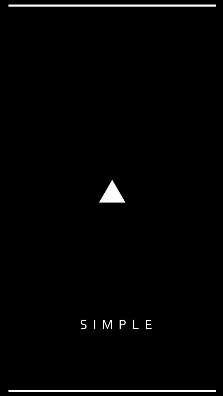 Simple, Minimalism - trianglesoul | ello