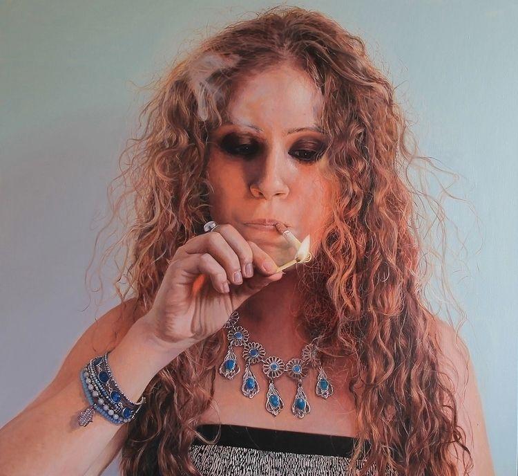 Smokey eyes, Joëlle / Tanya Ata - tanyaatanasovavisualarts | ello