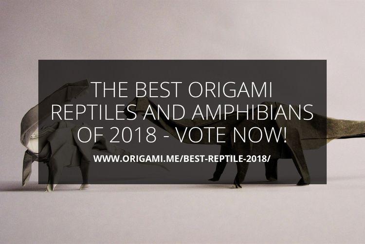 Origami Reptiles Amphibians 201 - origamidotme | ello