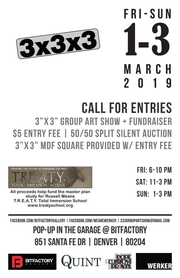 Call Entries! exhibition Garage - bitfactory | ello