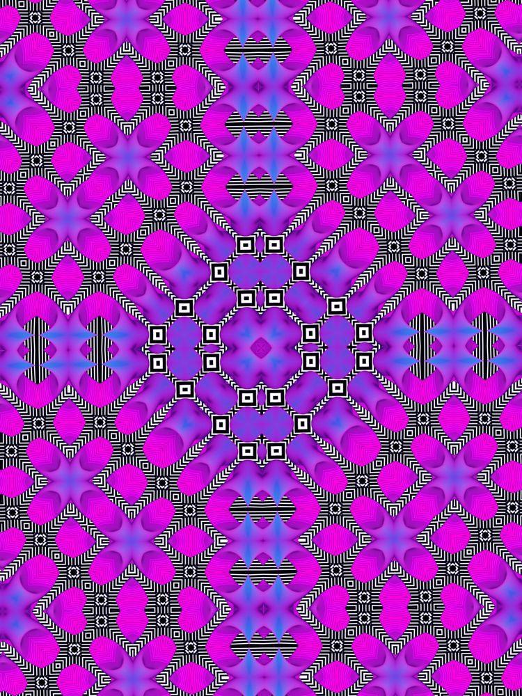 Techno Art Pattern - frhncis | ello