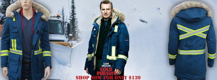 Liam Neeson Cold Pursuit Blue P - americasuits | ello