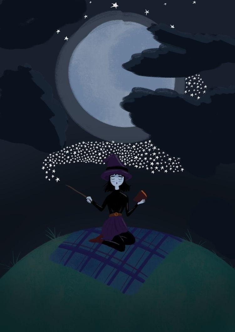 Day 2 Magic Moon Week: Magic. T - wildflower86 | ello