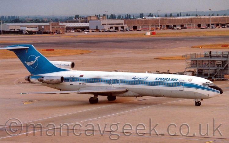 YK-AGA, Boeing 727-294, Syrian  - mancavgeek | ello